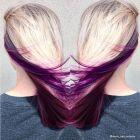 Capelli viola. I 15 scatti top da Instagram
