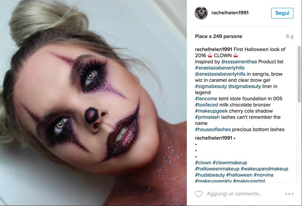 Trucco Halloween  15 idee top da Instagram  30666b9af92f