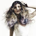 Hair: Neil Barton / Styling: Bernard Connolly / Make up: Megumi / Photo: Richard Miles / Products: Goldwell