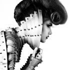 Hair: Christopher Gatt @Toni&Guy Kensington, London / Styling: Una M Burke / Make up: Funny Burgos / Photo: Pascal Heimlicher