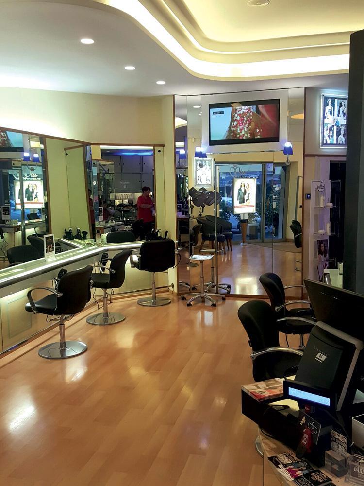 Arredamento parrucchieri i consigli per rinnovare il for Colori per salone