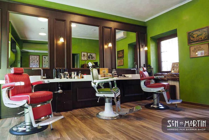 Eccezionale Arredamento Barber Shop. A chi rivolgersi | estetica.it LA65
