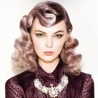 Hair: Louise Williamson @Stevie English Hair / Styling: Melanine Corthine / Make up: Sally Chapman / Photo: Mal Q Damkar