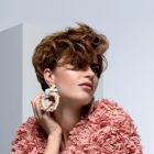 Hair: Carole and Laurent Voisinet / Photo: Pascal Latil / Make-up: Mariana Miteva / Styling: Véronique Suchet