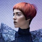 Hair: William Drenthen/ Photo: Petra Holland/ Make-up: Darien Touma/ Clothing: Annet Verbeek/ Products: Schwarzkopf Professional
