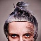 Hair: SHY+FLO / Photo: Karine&Oliver / Makeup: De Maria / Style: Patrick Hausermann