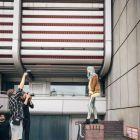 Hair: Kemon Italia/ Creative director: Mauro Galzignato/ Hairstylist: Davide Carlucci, Riccardo Rogari, Antonio Candido, Pierre Baltieri, Diego Comandulli, Damian Tworuschka/ Hair color specialist: Matteo Sartini/ Photo: Omar Macchiavelli / Aura Photo Agency/ Photo backstage: Mark David Alunni/ Stylist: Ylenia Puglia