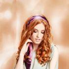 Hair: Karine Jackson using Curlformers by Hairflair / Stylist: Magdalena Jacobs / Make up: Elizabeth Kita / Photo: Barry Jeffery