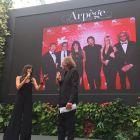 Diana Dell'Erba, protagonista a Venezia con il dvd di Louis Nero 'The Broken Key' indossa Arpège Opera
