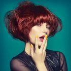 Hair: Helen Tether / Makeup: Lauren Mathis / Photo: Richard Miles