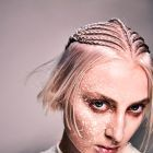 Hair: SHY+FLO / Make up: De Maria / Styling: Patrick Hausermann / Photo: Karine&Oliver
