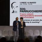 Roberto Pissimiglia e Laura Castelli Esteticanetwork partenr dell'evento