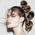 Hair: Sophie Gibson @ Hooker & Young/Makeup: Megumi /Photo: Jack Eames