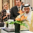 His Excellency at Quintessence during the opening of Beautyworld Middle East 2019