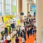 Busy halls at Beautyworld Middle East 2019