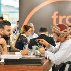 Exhibitors and visitors network at Beautyworld Middle East