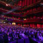 The fabulous Harpa auditorium