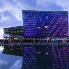 The fabulous Harpa in Reykjavik