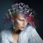 Hair: Bill Tsiknaris @Tsiknaris Hair / Colour: Chris Tsiknaris / Make up: Charlotte Ravet