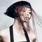 Hair: Bill Tsiknaris / Colourist: Chris Tsiknaris / Photo: David Mannah / Make up Artist: Pablo Morgade / Stylist: Josie McManus / Salon: Tsiknaris Hair