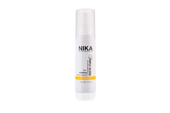 simply gloss nika beauty excellence riflessante spray capelli