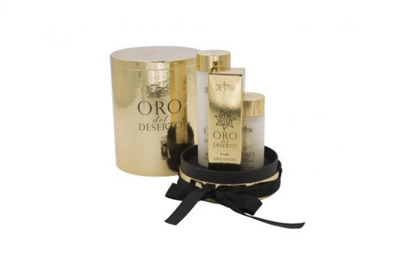 oro del deserto creattiva professional gift box prodotti capelli