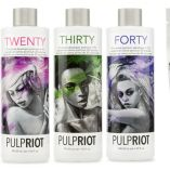 Blonde af collection lightener and developers Pulp Riot